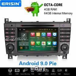 Android 9.0 Car Mercedes Benz C / Clk / CLC Class W203 W209 CD Navi Tnt 8-core