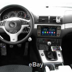 Android 9.0 Dab + Car Gps Navi Wifi + 4g Obd Bmw M3 E46 3er 320 Mg Zt Rover 75