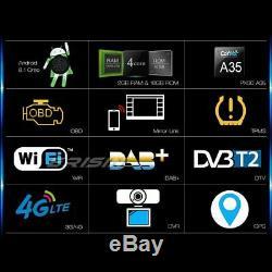 Android 9.0 Dab + Dtt Car Gps Bluetooth DVD Navi Usb Rds 4g Porsche Cayenne