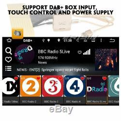 Android 9.0 Dab + Navi Dual 2din Car Stereo Wifi Dvr 4g Obd Tnt Rds Fm Bluetooth