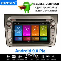 Android 9.0 Dab + Radio Navi Freeview Dvr Obd2 Dsp Carplay Wifi Sd Alfa Romeo Mito