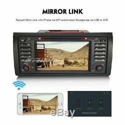 Android 9.0 Gps Car Dab + Dsp Carplay Wifi Navi Bmw 5 Series E39 X5 E53 M5