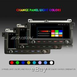 Android 9.0 Gps Navi Radio Dab + Bt Usb Bmw 3 Series E46 M3 320 Rover 75 Mg Zt