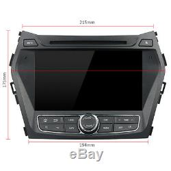 Android 9.0 Octa Core Navi Gps Car Stereo Hyundai Ix45 / Santa Fe 2013-2014