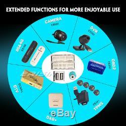 Android 9.0 Porsche Cayenne Car Radio Navi Wifi Tnt-in Bt 4g CD Rds Obd Dab + Gps