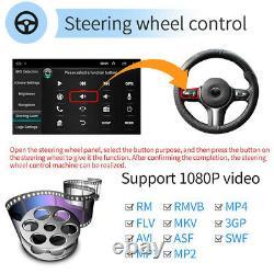 Android 9.1 10.1 2din Autoradio Gps Navigation Bluetooth Navi Screen Tactile Fm