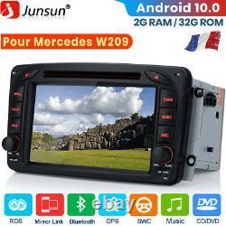 Android Autoradio Gps Navi DVD Wifi For Mercedes Benz Clk -class W209 C209 W463