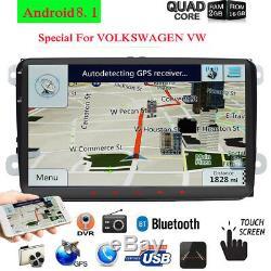 Android Car Audio For Vw Golf Passat Seat Mk5 6 Touran Polo Obd Dab + 9 Navi Gps