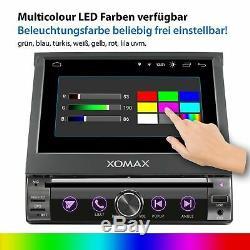 Android Radio With 10 2gb 32gb Ram DVD Navi Bluetooth Wifi 3g + 4g Dab 1din