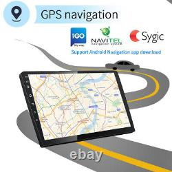 Autoradio 10.1'' Android 9.1 Gps Navi Bluetooh Usb Fm Wifi 2 Din Tactile Screen
