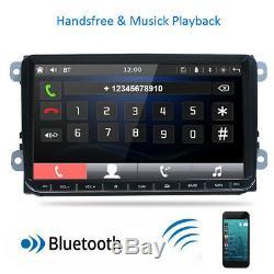 Autoradio Bt 8.1 Android 8.1 Gps Navi Bt Rds For Vw Golf 5 6 Polo Touran