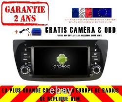 Autoradio DVD Gps Navi Android 9.0 4gb Dab Wifi Fiat Doblo Rv5533