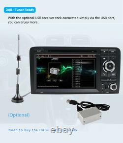 Autoradio For Audi A3 S3 Rs3 Android 10 Gps Navi DVD 2 Din Autoradio Wifi Bt