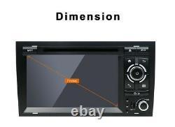Autoradio For Audi A4 S4 Rs4 B9 B7 Exeo Seat Android 10 Gps Navi Cd/dvd Dab