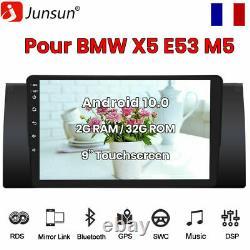 Autoradio For Bmw X5 E53 2000-2007 Gps Sat Navi Android Stereo Units 9