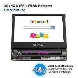 Autoradio With Android 10 2 GB 32 GB Navi Gps Bluetooth Wifi 3g 4g Dab Obd2 1din