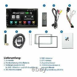Autoradio With Android 10 2din Gps Navi Bluetooth Usb Wifi 32gb