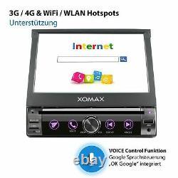 Autoradio With Android 10 2gb 32gb Ram Navi DVD Bluetooth Wifi 3g 4g Dab+ 1din