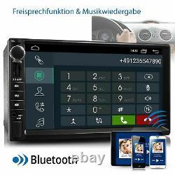 Autoradio With Android 10 Hd Mp5 Gps Navi Wifi Bluetooth 2din Dab 4core 32 GB