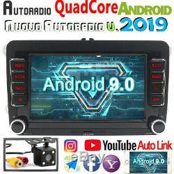 Car 7 Android 9.0 Gps Navi Bt For Vw Passat Golf Jetta Polo June 5 Touran