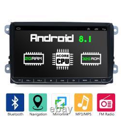 Car Android 8.1 9 2 + 32g 2din Gps Navi For Vw Golf 5 V Passat Polo Tiguan