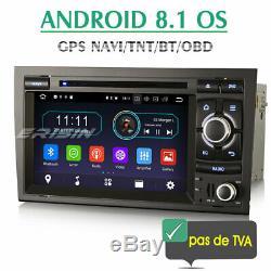 Car Audio Audi A4 Android 8.1 Gps Navi CD DVD Tnt Wifi Bluetooth Obd2 Usb Dab +