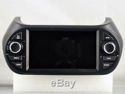 Car DVD Gps Navi Android 8.0 4gb Dab + Wifi Fiat Fiorino Qubo V5538