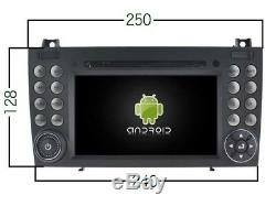 Car DVD Gps Navi Android 8.0 Dab Wifi Mercedes Slk Class W171 R171 V5576