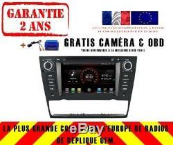 Car DVD Gps Navi Android 8.1 Dab + Bmw 3 Series E90 E91 E92 E93 K5713