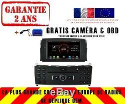 Car DVD Gps Navi Android 8.1 Dab + Mercedes Benz C Class W204 07-11 K5704