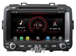 Car DVD Gps Navi Android 8.1 Dab + Usb Bt Wifi Kia Carens K6588