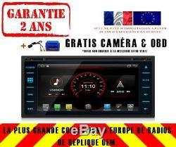 Car DVD Gps Navi Android 8.1 Dab + Usb Toyota Rav4 Corolla Vios K6149