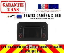 Car DVD Gps Navi Android 8.1 Dab + Wifi Bt Carplay Fiat Croma 2005-12 8829