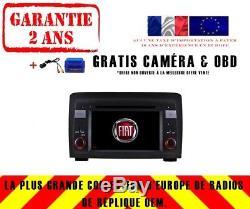 Car DVD Gps Navi Android 8.1 Dab + Wifi Bt Carplay Fiat Idea 2003-07 8718