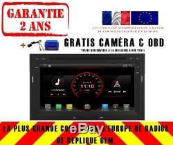 Car DVD Gps Navi Android 8.1 Dab + Wifi Usb Peugeot 3008 5008 09+ K6430