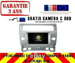 Car DVD Gps Navi Android 9.0 4gb Dab + Wifi Carplay Citroen C4 Rv5691s