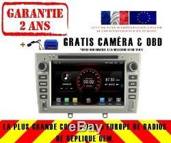 Car DVD Gps Navi Android 9.1 Dab + Peugeot 408 308 Rcz 2010-11 K5634 S