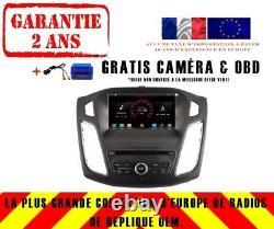 Car DVD Gps Navi Android 9.1 Dab + Usb Ford Focus (12-15) K6458