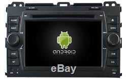 Car DVD Gps Navi Android 9.1 Dab + Usb Toyota Prado (02-09) K6129