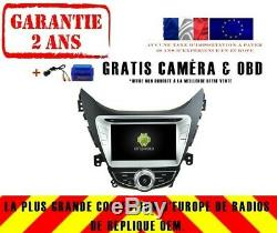 Car DVD Navi Gps Android 9.0 4gb Bt Dab + Wifi Hyundai Elantra I35 Rv5718