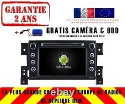 Car DVD Navi Gps Android 9.0 4gb Bt Dab + Wifi Suzuki Grand Vitara Rv5779