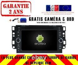 Car DVD Navi Gps Android 9.0 4gb Dab + Wifi Chevrolet Aveo (02-11) Rv5750