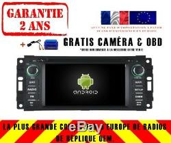Car DVD Navi Gps Android 9.0 4gb Dab + Wifi Chrysler Cirrus (07-10) Rv5620c