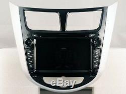 Car DVD Navi Gps Android 9.0 4gb Dab + Wifi Hyundai Solaris (11-12) Rv5711