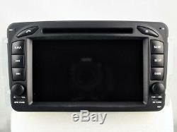 Car DVD Navi Gps Android 9.0 4gb Dab + Wifi Mercedes C / Clk / G-class Rv5513