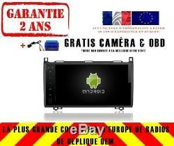 Car DVD Navi Gps Android 9.0 4gb Dab + Wifi Viano Mercedes Sprinter Rv5340