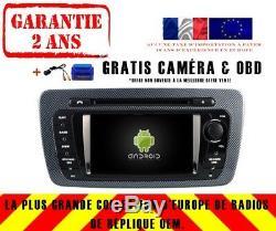 Car DVD Navi Gps Android 9.0 Dab + Wifi Carplay Seat Ibiza (09-13) Rv5524