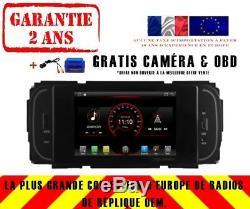 Car DVD Navi Gps Android 9.1 Dab Chrysler Grand Cherokee Intrepid K6838
