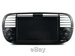 Car DVD Navi Gps Android 9.1 Dab + Usb Carplay For Fiat 500 K6779b