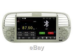 Car DVD Navi Gps Android 9.1 Dab + Usb Carplay For Fiat 500 K6779w